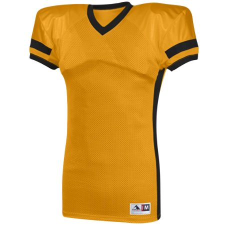 AUGUSTA HANDOFF CONTRAST COLOR TRICOT MESH COLLIGATE  FIT FOOTBALL JERSEY - 9570
