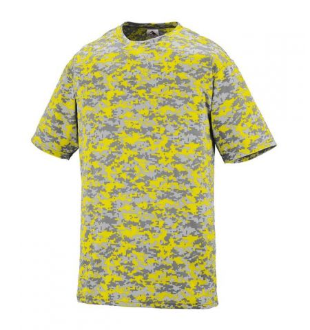 AUGUSTA DIGITAL CAMO WICKING T-SHIRTS