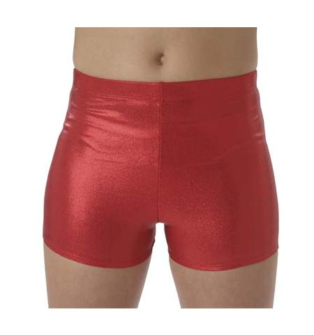PIZZAZZ CHEERLEADER BODY BASICS BOY CUT  METALLIC CHEER BRIEFS - 2200M / 2100M