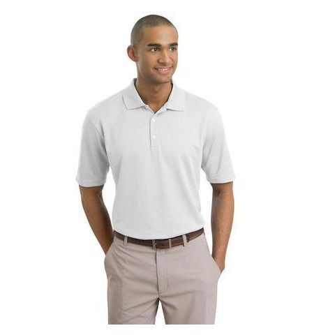 Nike Golf - Dri-FIT Textured Polo with Slv Swoosh.  244620