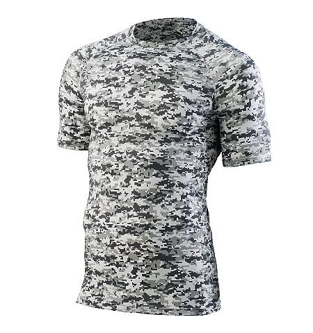 AUGUSTA SHORT SLEEVE ULTRA COMPRESSOIN TOP - 2600