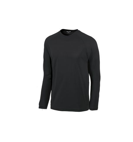 SPORT-TEK DRI ZONE LONG SLEEVE RAGLAN T-SHIRT - T473LS