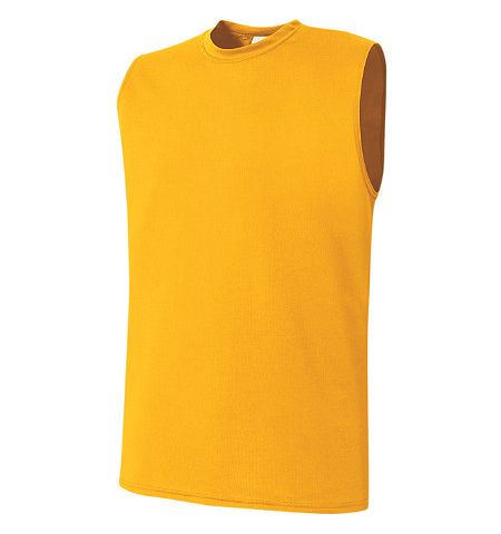HIGH 5 PERFORMANCE POLYESTER SLEEVELESS T-SHIRT - 32160