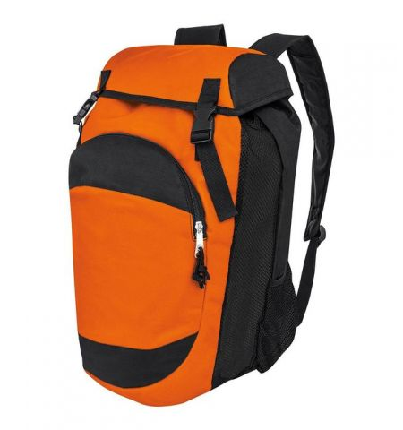 BACKPACK / GEAR BAG - HEAVY POLYESTER DENIER PACK WITH LARGE BALL COMPARTMENT - 327870