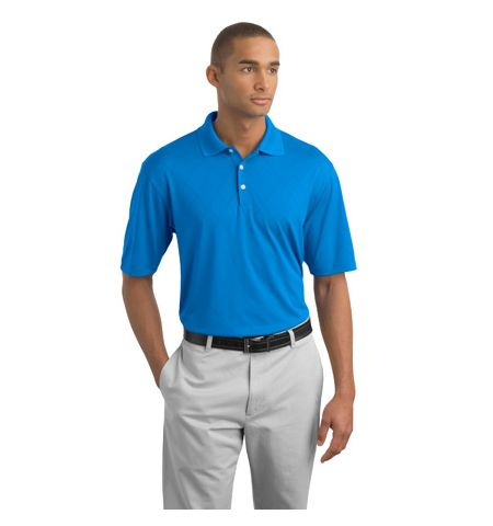 Nike Golf - Dri-FIT Cross-Over Texture Polo with Slv Swoosh-349899