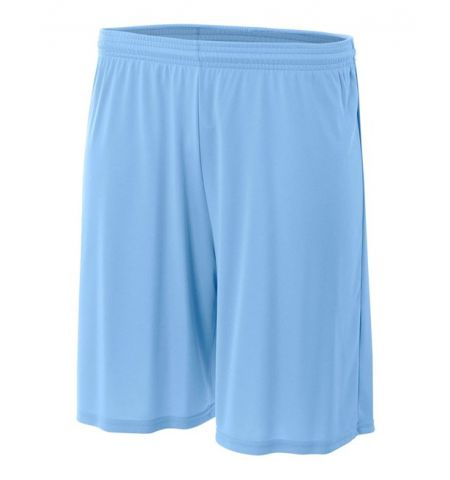 A4 SOLID COLOR 4 OZ PERFORMANCE POLYESTER SHORTS - N5244