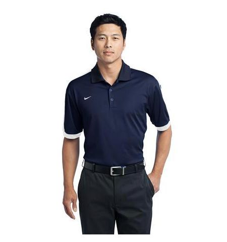 Nike Golf Dri-FIT N98 Two Color Accent Stripe Polo Shirt - 474237