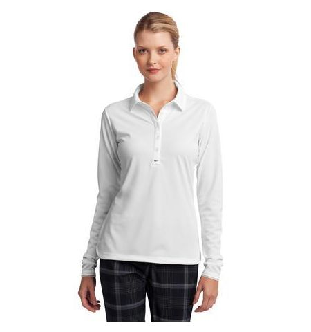Nike Golf Ladies Long Sleeve Dri-FIT Tech Polo. 545322
