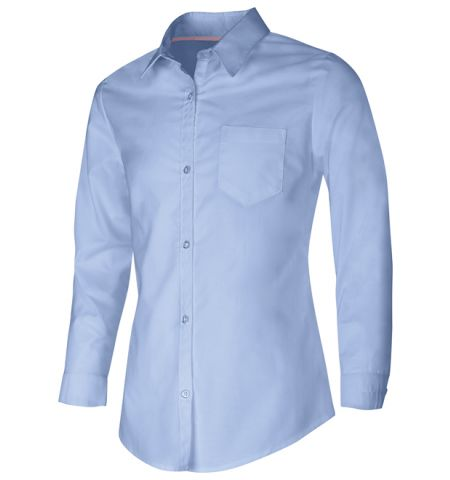 CLASSROOM APPAREL GIRLS LONG SLEEVE OXFORD SHIRT - 57514