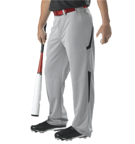 ALLESON  RELAXED FIT TWO COLOR BASEBALL PANTS - 605WLS-2