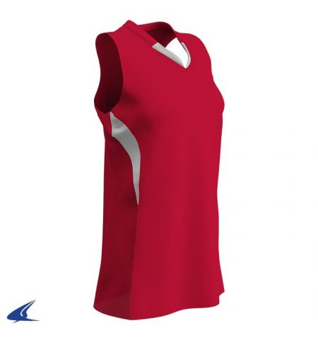 CHAMPRO DECOY V-NECK RACERBACK SOFTBALL JERSEY - BS30