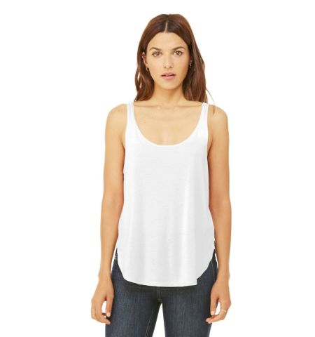 BELLA+CANVAS  ®  Women's Flowy Side-Slit Tank. BC8802