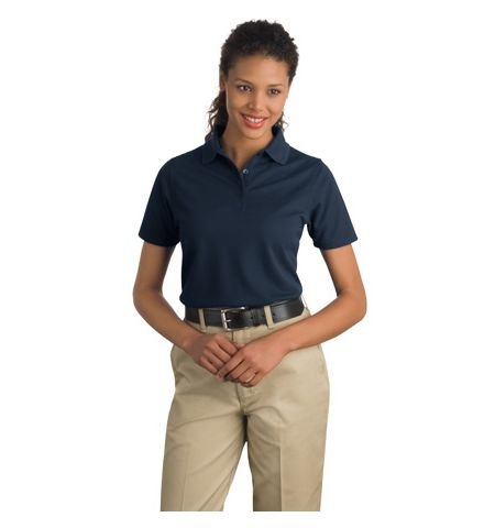 CornerStone - Ladies Industrial Pocketless Pique Polo. CS403