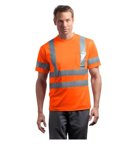 CornerStone - ANSI Class 3 Short Sleeve Reflective T-Shirt. CS408