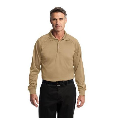 Cornerstone 6.6 oz Long Sleeve Snag-Proof Tactical Polo. CS410LS