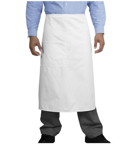 CornerStone - 7.5 oz Cotton/Poly Full Bistro Apron. CS701