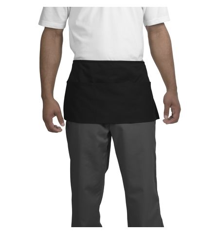 CornerStone - 7.5 oz Cotton/Poly Waist Apron with Three Pockets.  CS702