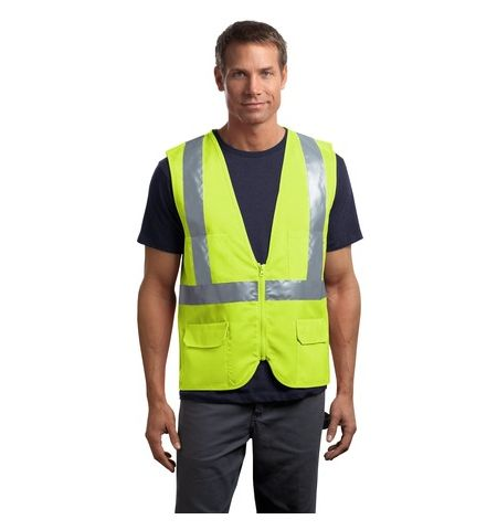 CornerStone - ANSI Class 2 Mesh Back Safety Vest - CSV405