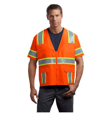 CornerStone - ANSI Class 3 Dual-Color Safety Vest. CSV406