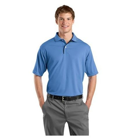 Sport-Tek - Dri-Mesh Polo with Tipped Collar and Piping.  K467