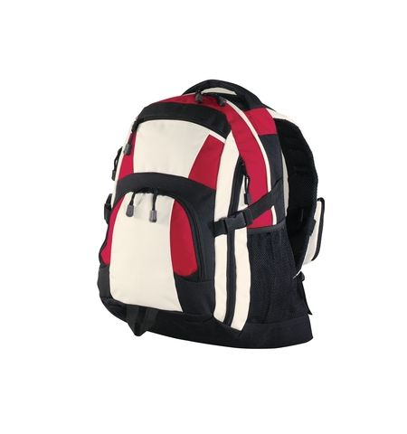 PORT AUTHORITY CONTRAST COLOR URBAN BACKPACK,  LAPTOP SLEEVE BG77