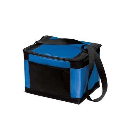 "PORT AUTHORITY 12"" W x 8.5"" D x 8.75"" H NYLON COOLER WITH STRAP - BG89"