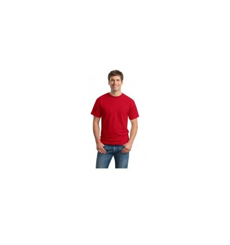 ADULT GILDAN 6.1 OZ 100% COTTON SOLID COLOR T-SHIRT.
