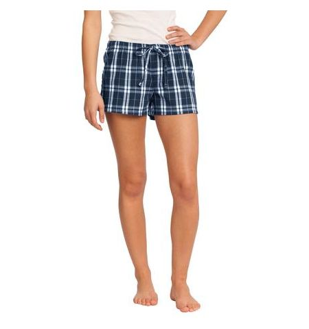 DISTRICT JUNIORS FLANNEL PLAID BOXERS - DT2801
