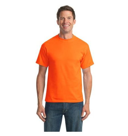 P & C 50/50 COTTON POLY BLEND SHORT SLEEVE SAFETY T-SHIRT