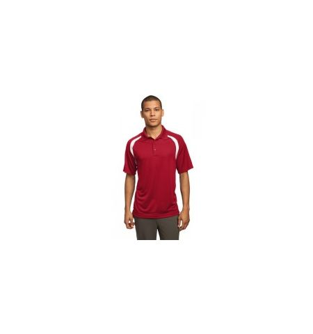 Sport-Tek - Dry Zone Performance Poly Colorblock Raglan Polo