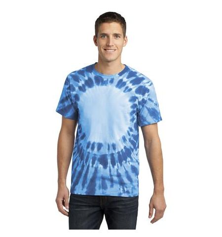 AFFORDABLE  UNIFORMS ADULT WINDOW TYE DYE TEE