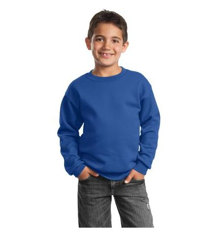 7.8 OZ 50/50 YOUTH CLASSIC CREWNECK SWEATSHIRT
