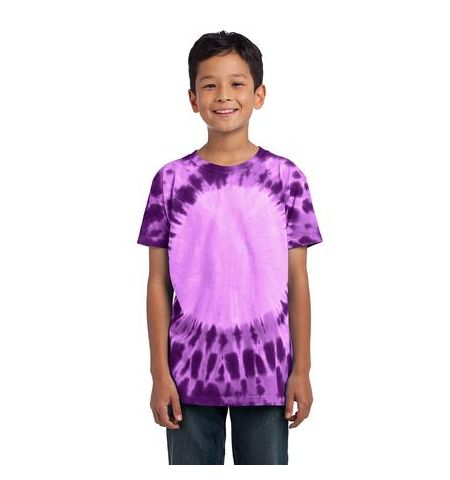AFFORDABLE UNIFORMS YOUTH WINDOW TYE DYE TEE