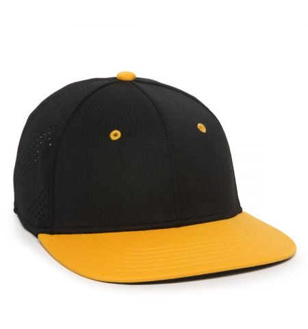 OC SPORTS - POLY/SPANDEX PROFEX FIT CAP WITH PERFORATED SIDE PANELS - AIR25