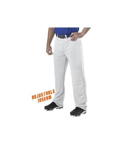 ALLESON  12 OZ RELAXED FIT ADJUSTABLE INSEAM BASEBALL PANTS - 605WAP