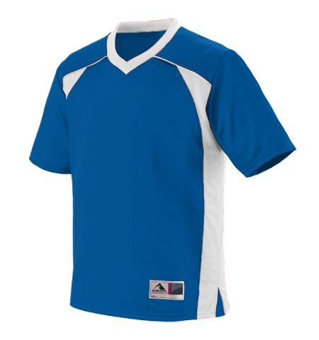 TWO COLOR POLY MESH REPLICA FAN JERSEY