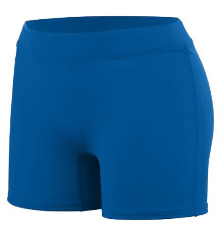 AUGUSTA LADIES ENTHUSE SPANDEX SHORTS - 1222