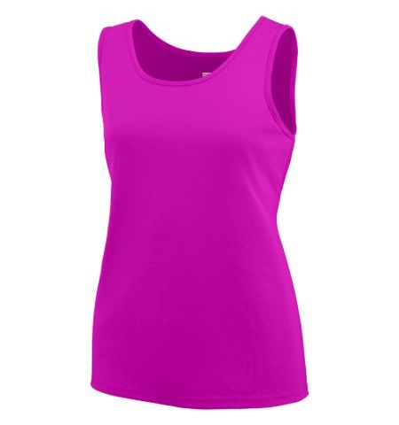 AUGUSTA LADIES PERFORMANCE POLYESTER TRAINING TANK TOP - 1705