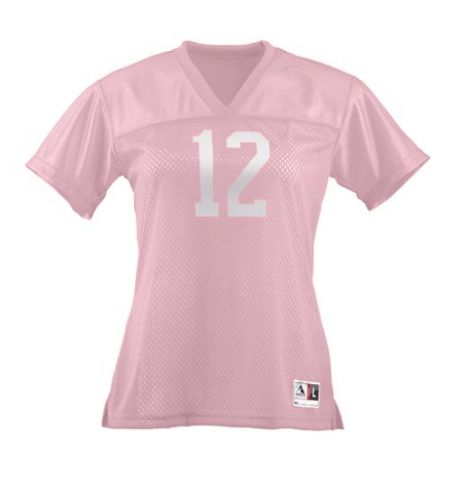 AUGUSTA LADIES POLYESTER TRICOT MESH REPLICA FAN JERSEY - 250