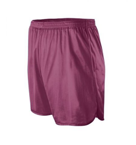ADULT EXTENDED LENGTH NYLON TRICOT TRACK SHORTS