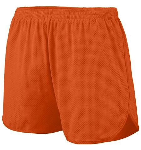 AUGUSTA SOLID COLOR PERFORMANCE MESH SPLIT SHORTS WITH INNER BRIEF - 338