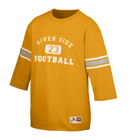 ADULT OLD SCHOOL POLY/COTTON FAN FOOTBALL JERSEY