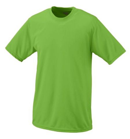 ADULT MOISTURE WICKING 100% POLYESTER T-SHIRT