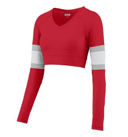 AUGUSTA LADIES DOUBLE DOWN POLYESTER/SPANDEX CHEER LINER - 9020