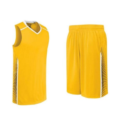 HIGH 5 LADIES COMET BASKETBALL UNIFORM WITH SUBLIMATED SIDES - 32392