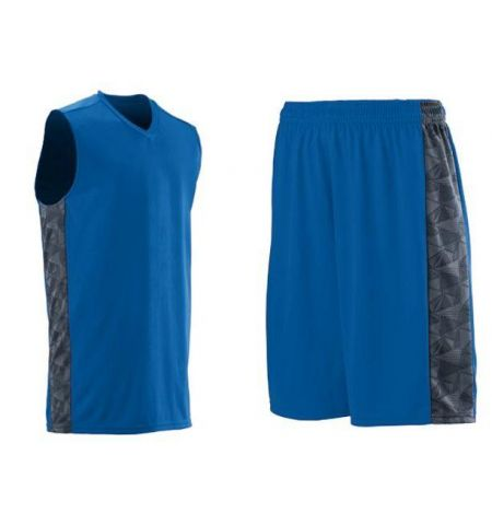 AUGUSTA FAST BREAK PERFORMANCE POLY BASKETBALL UNIFORMS WITH PRINTED SIDE PANELS -1720