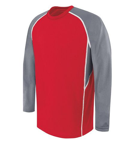 HIGH 5 EVOLUTION LONG SLEEVE PERFORMANCE POLYESTER SHIRT/JERSEY - 372310
