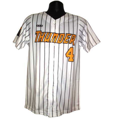 MAXXIM SPORTS SUBLIMATED FULL BUTTON BASEBALL JERSEY - MAX-DSB500