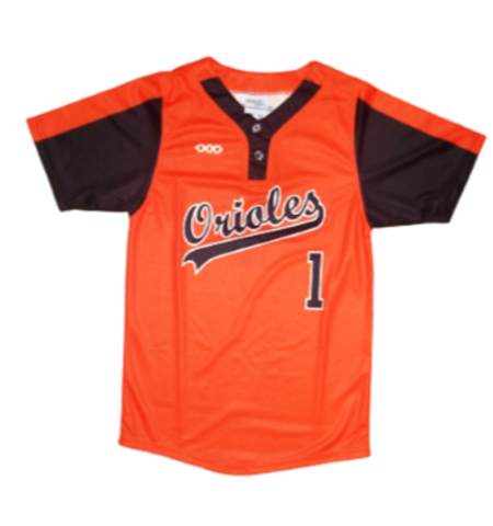 MAXXIM SPORTS SUBLIMATED 2 BUTTON JERSEY - MAX-LL2B