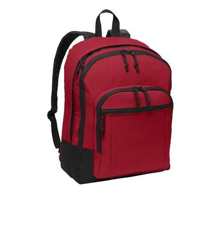 PORT AUTHORITY CLASSIC STYLE BASIC 4 COMPARTMENT BACK BACKPAGE WITH COMPUTER SLEEVE - BG204